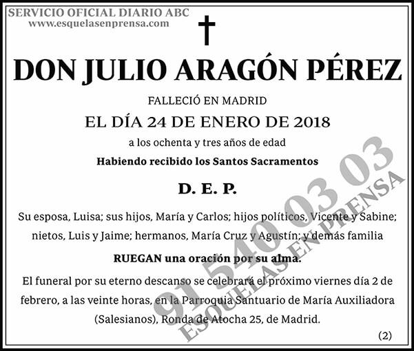 Julio Aragón Pérez